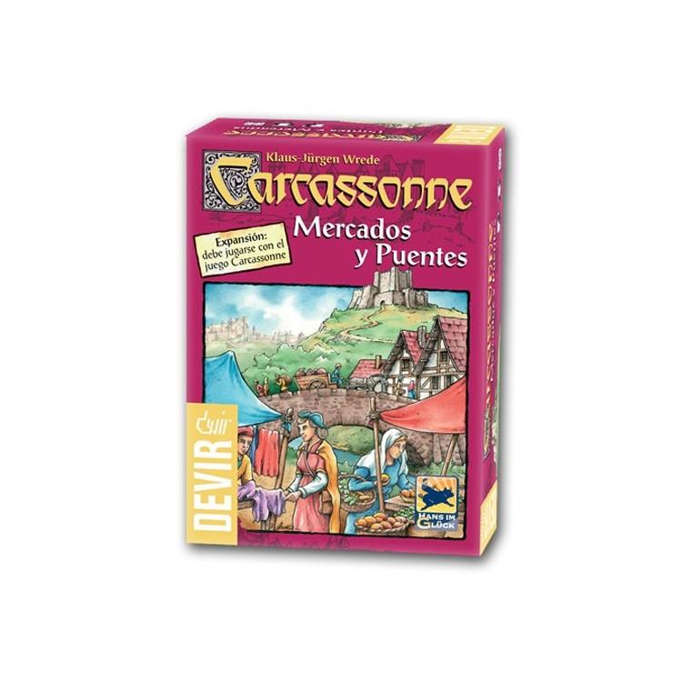 Carcassonne: Exp.6 Pontes e Mercados
